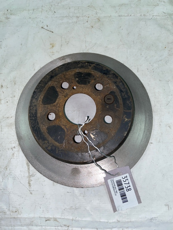 Тормозной диск Toyota Corona AT190 задний (б/у)