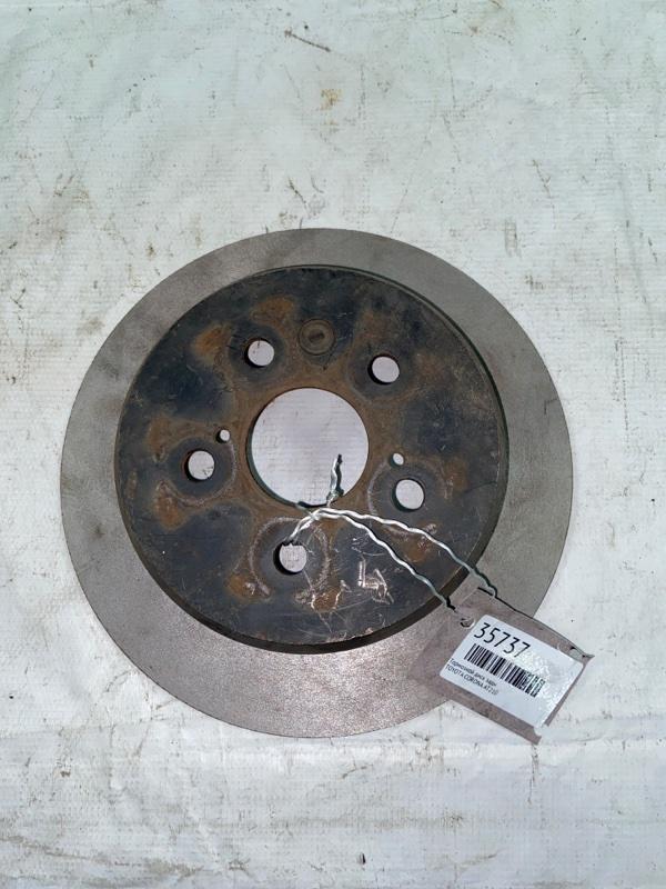 Тормозной диск Toyota Corona AT210 задний (б/у)