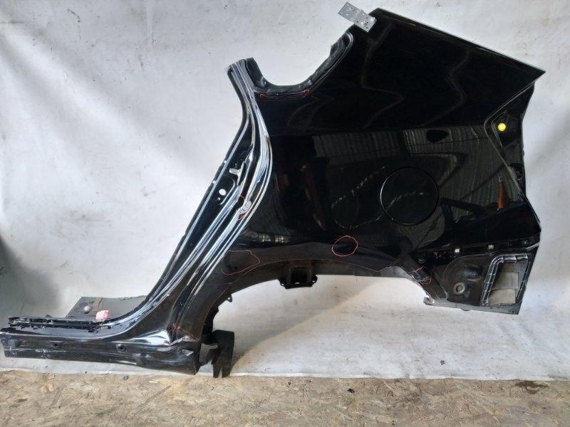 Крыло Toyota Prius ZVW30 2ZR-FXE 2012.07 заднее левое (б/у)