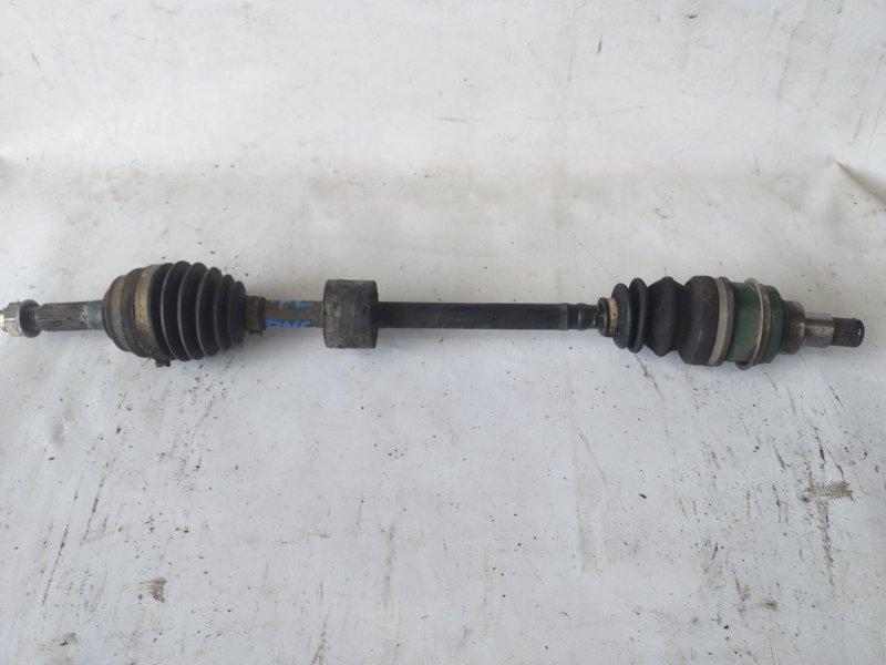 Привод Toyota Bb QNC25 передний левый (б/у)