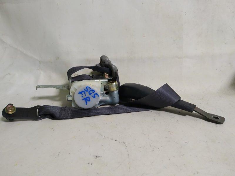 Ремень безопасности Subaru Forester SG5 передний правый (б/у)
