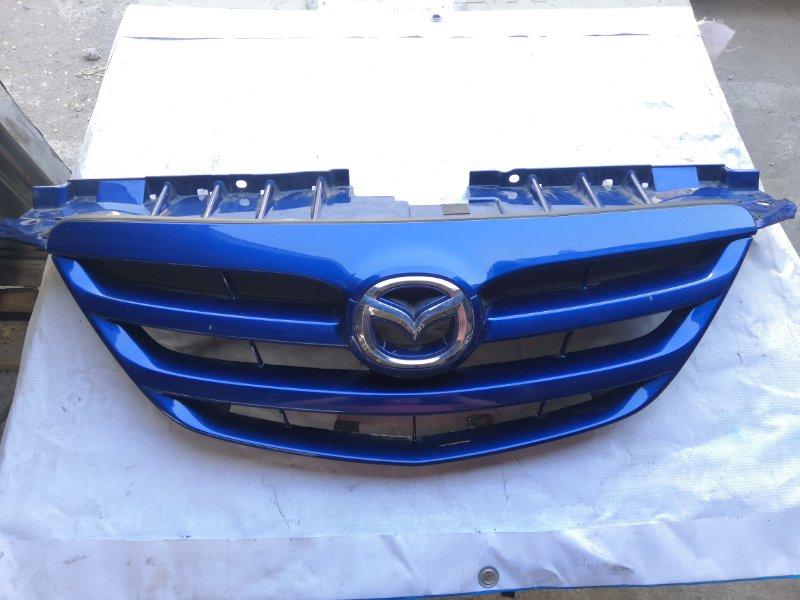 Решетка радиатора Mazda Mpv LW3W L3 2005 передняя (б/у)