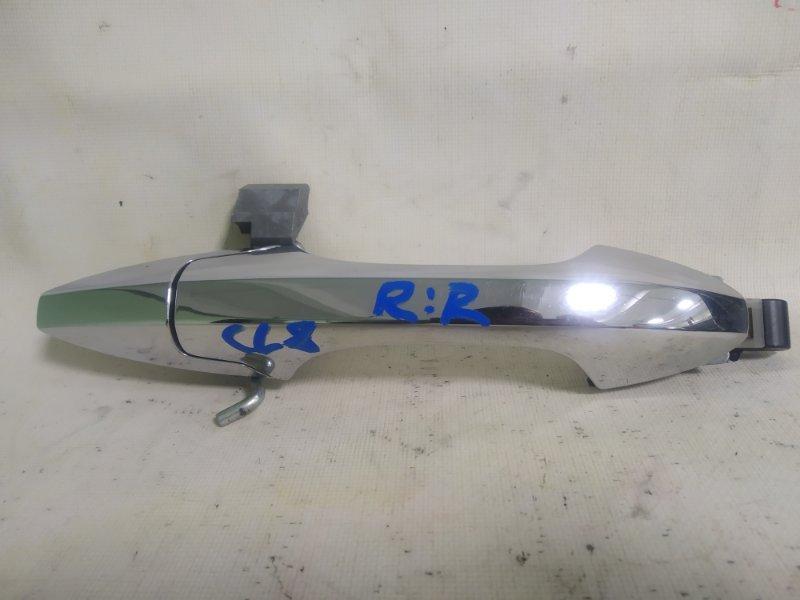 Ручка двери Honda Accord CL8 K20A задняя правая (б/у)
