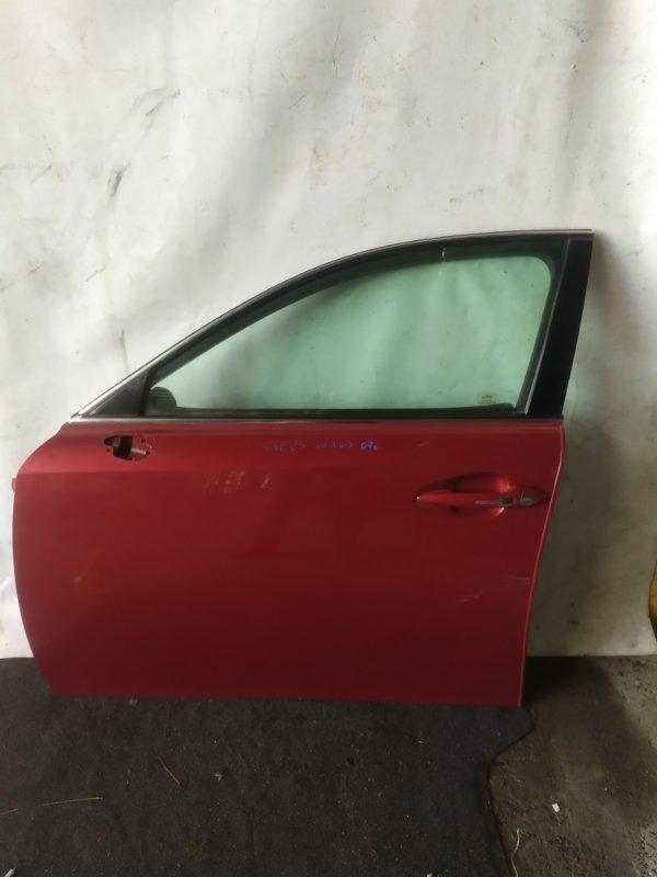Дверь боковая Lexus Is250 GSE25 2007 передняя левая (б/у)