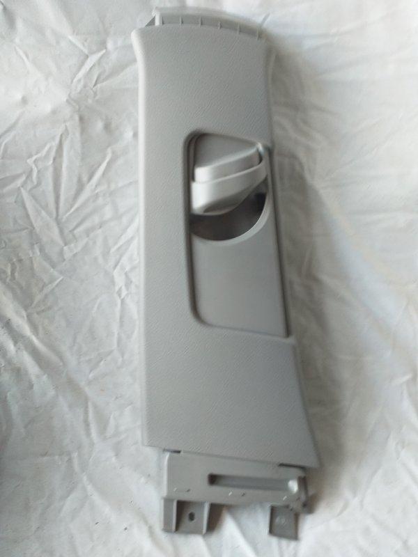 Обшивка стойки кузова Toyota Corolla Fielder NZE144 задняя левая (б/у)
