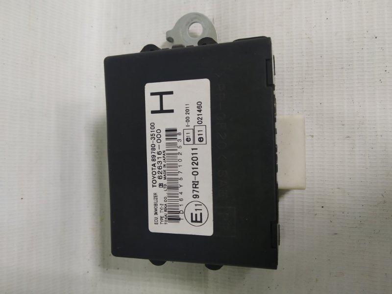 Блок иммобилайзера Toyota Hilux Surf TRN215 2005 (б/у)