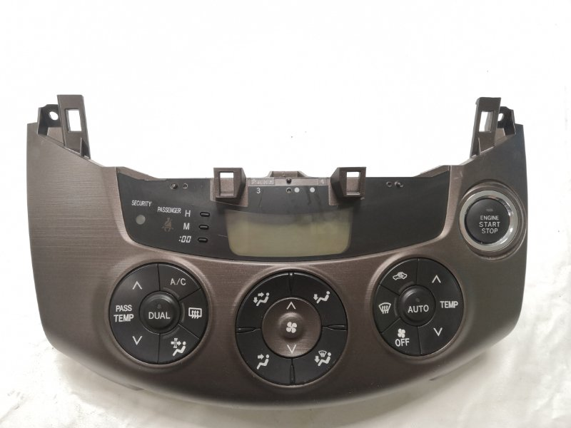 Блок управления климат-контролем Toyota Vanguard ACA33 2AZ 2007 (б/у)