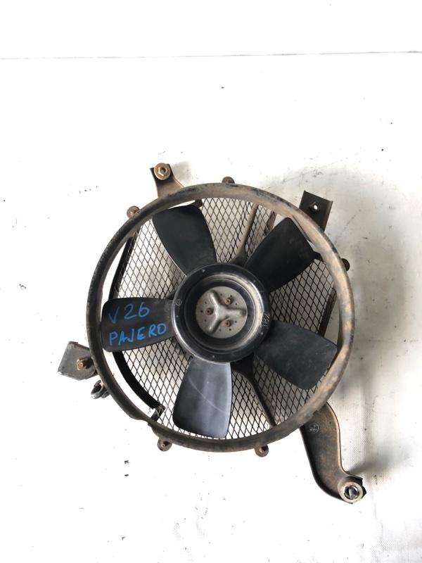 Вентилятор радиатора кондиционера Mitsubishi Pajero V26W 4M40 1993 (б/у)