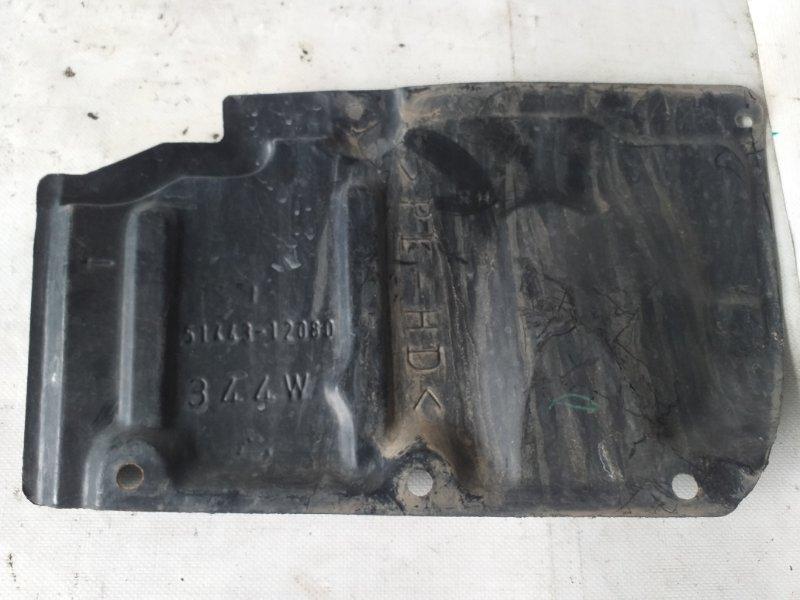 Защита двигателя Toyota Blade AZE156 передняя правая (б/у)