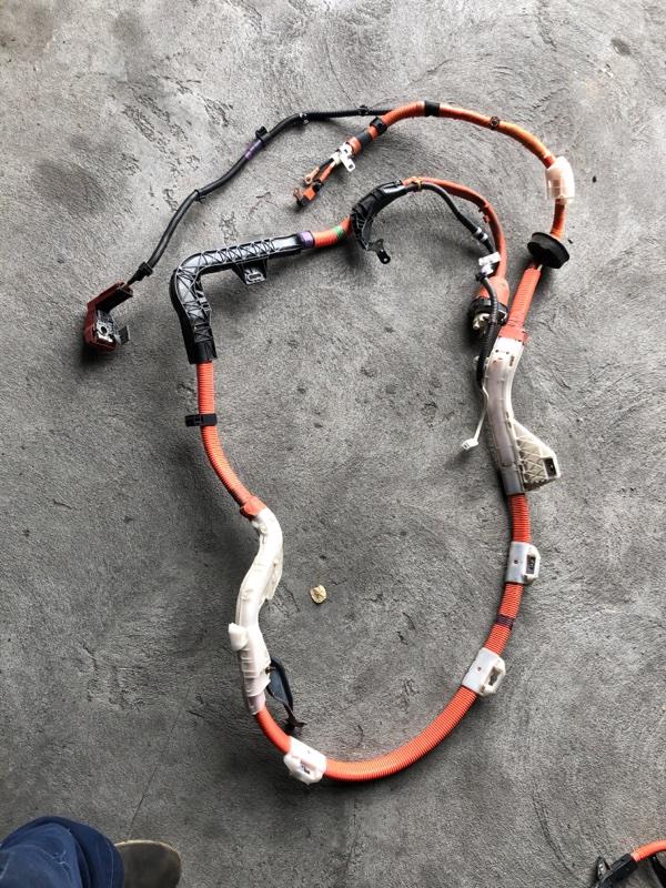 Высоковольтный провод батареи Toyota Prius ZVW30 2ZR-FXE 2012.07 (б/у)