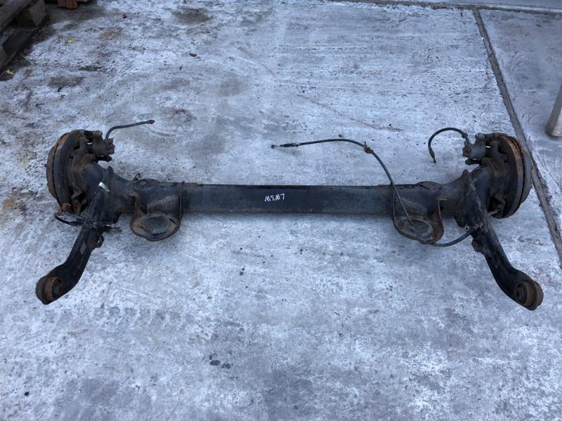Балка подвески Mazda Mpv LW3W L3 задняя (б/у)
