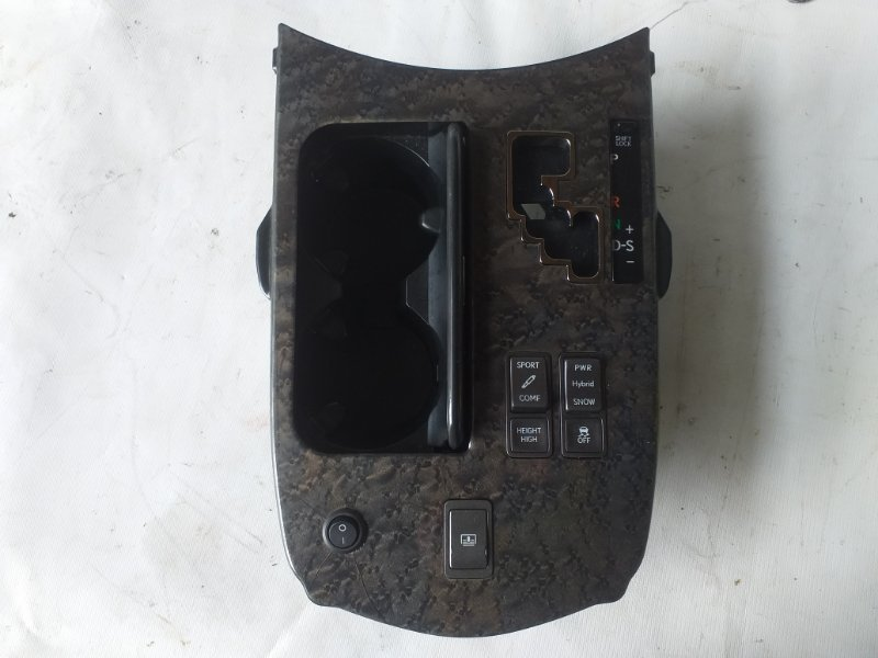 Консоль кпп Lexus Ls600 UVF45 2UR-FSE 2007.06 (б/у)