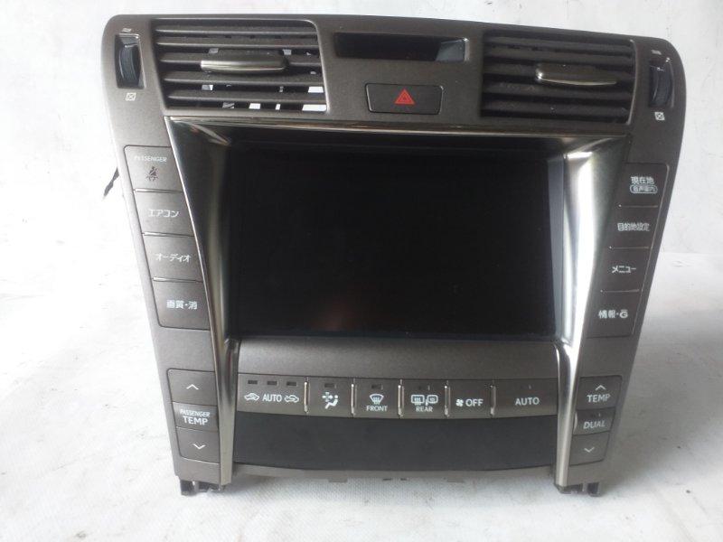 Блок управления климат-контролем Lexus Ls600 UVF45 2UR-FSE 2007.06 (б/у)