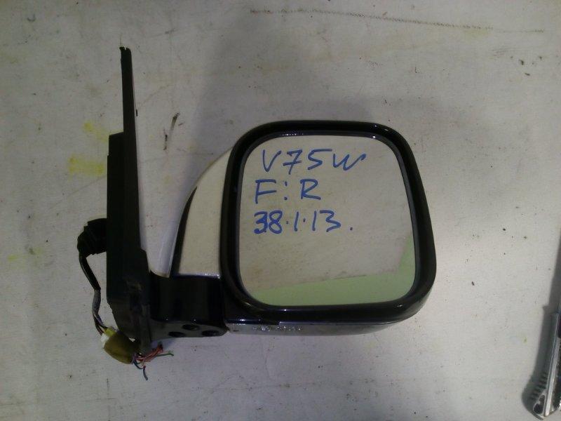 Зеркало Mitsubishi Pajero V75W переднее правое (б/у)