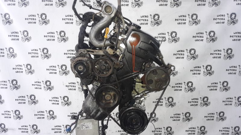 Двигатель Toyota Corsa EL53 5E-0799481 (б/у)