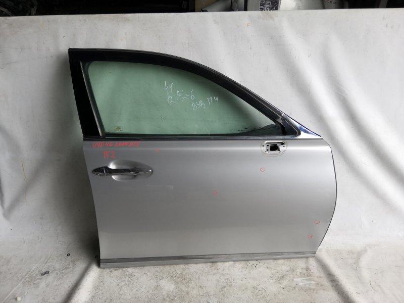 Дверь боковая Lexus Ls600 UVF45 2UR-FSE 2007.06 передняя правая (б/у)