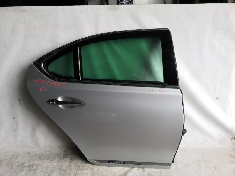 Дверь боковая Lexus Ls600 UVF45 2UR-FSE 2007.06 задняя правая (б/у)