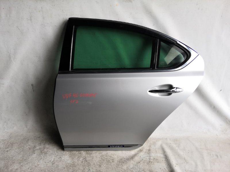 Дверь боковая Lexus Ls600 UVF45 2UR-FSE 2007.06 задняя левая (б/у)