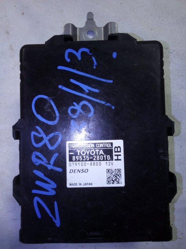 Блок управления акпп Toyota Noah ZWR80 (б/у)