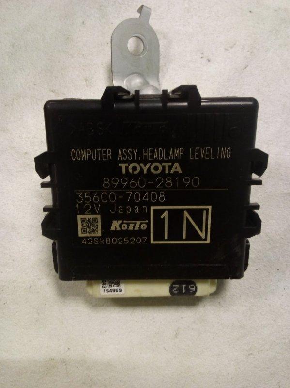 Блок управления Toyota Noah ZWR80 (б/у)