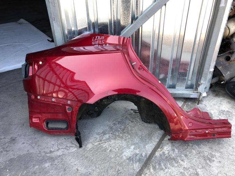 Крыло Lexus Is250 GSE25 2007 заднее правое (б/у)