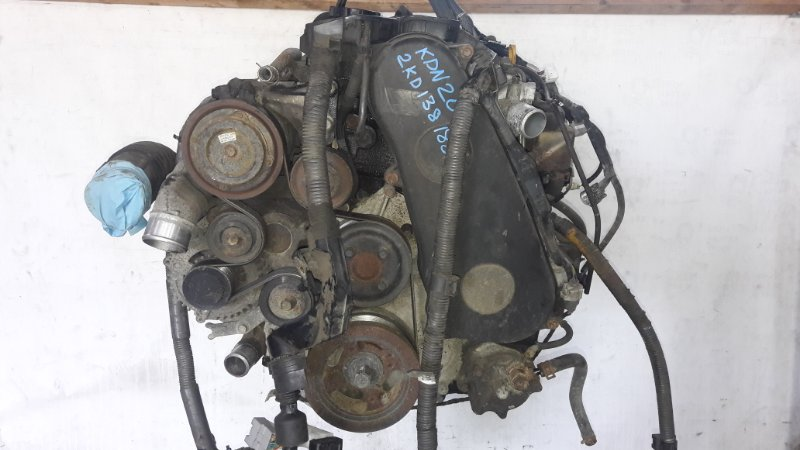 Двигатель Toyota Hiace KDH205 2KD-FTV (б/у)