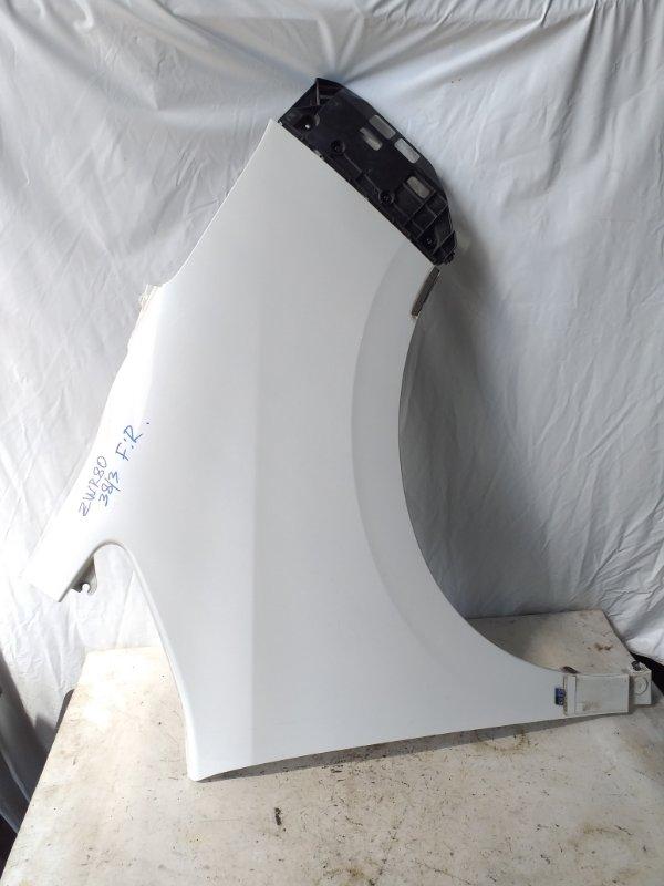 Крыло Toyota Voxy ZWR80 переднее правое (б/у)