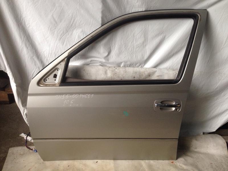 Дверь боковая Toyota Vista SV55 передняя левая (б/у)