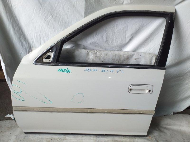 Дверь боковая Toyota Cresta JZX105 передняя левая (б/у)
