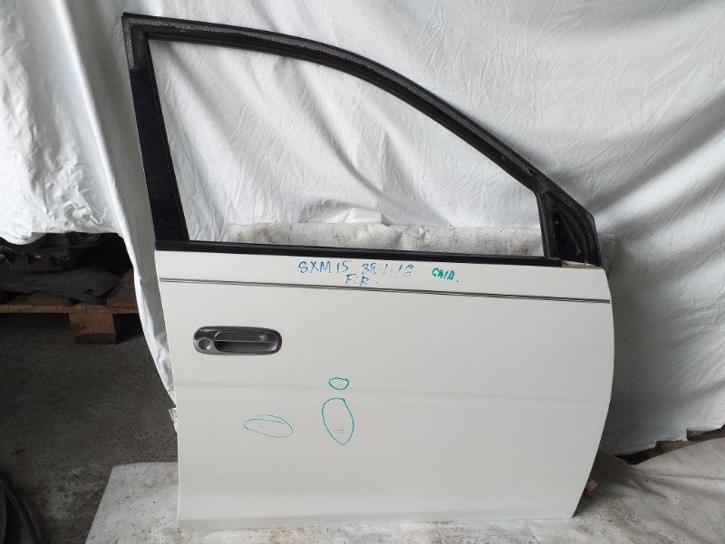Дверь боковая Toyota Gaia SXM15 передняя правая (б/у)