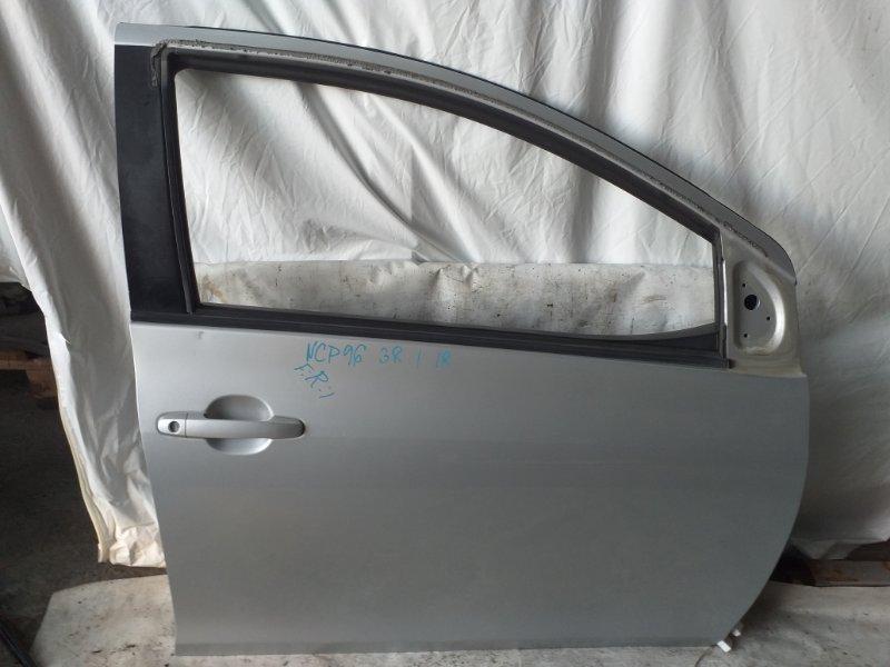 Дверь боковая Toyota Belta NCP96 передняя правая (б/у)