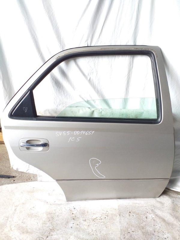 Дверь боковая Toyota Vista SV55 задняя правая (б/у)