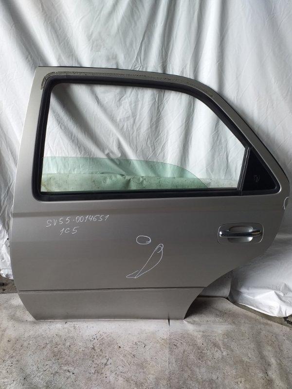 Дверь боковая Toyota Vista SV55 задняя левая (б/у)