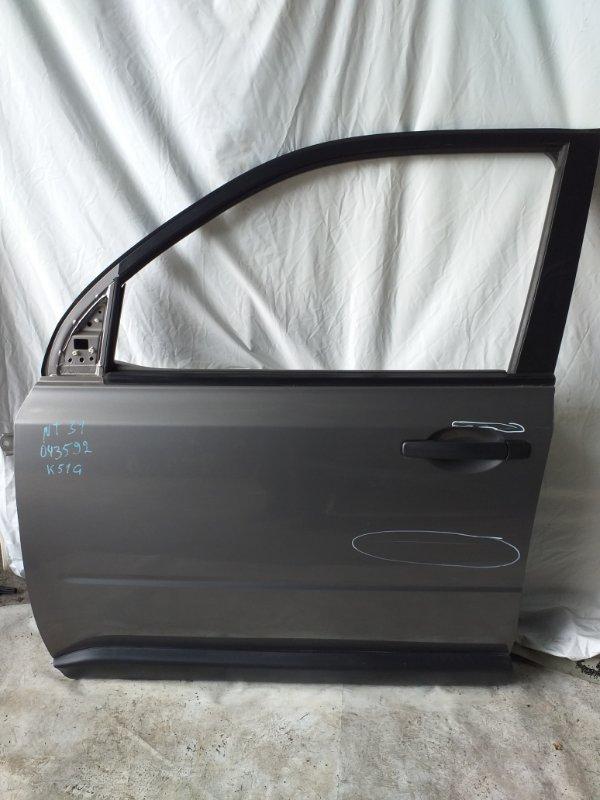 Дверь боковая Nissan X-Trail NT31 передняя левая (б/у)