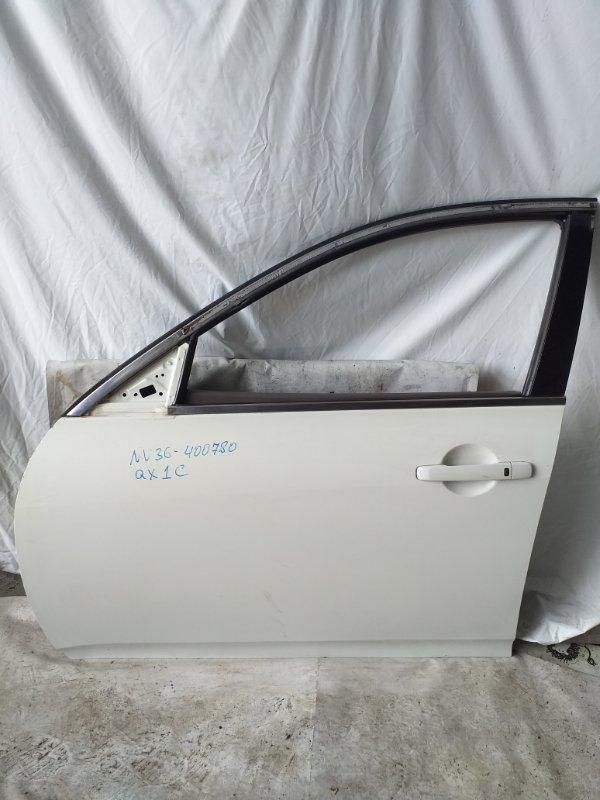 Дверь боковая Nissan Skyline NV36 передняя левая (б/у)