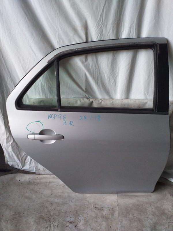 Дверь боковая Toyota Belta NCP96 задняя правая (б/у)