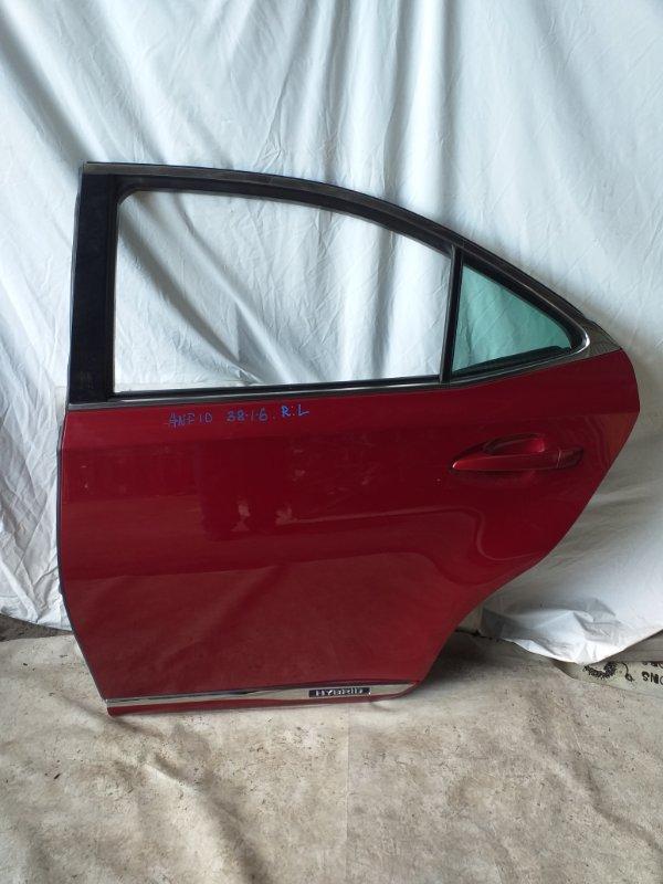 Дверь боковая Lexus Hs250H ANF10 2009.11 задняя левая (б/у)