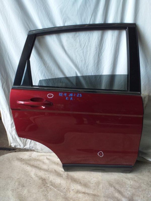 Дверь боковая Honda Cr-V RE4 задняя правая (б/у)
