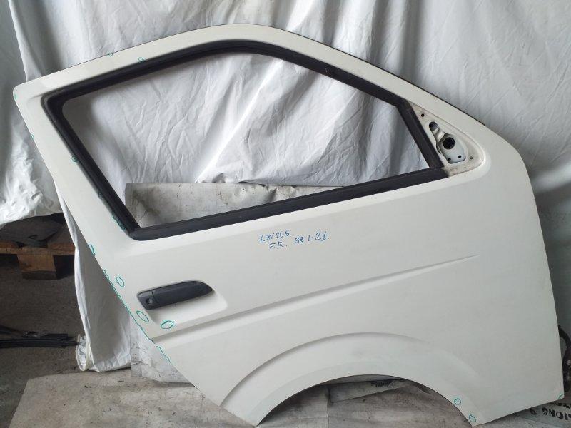 Дверь боковая Toyota Hiace KDH205 передняя правая (б/у)