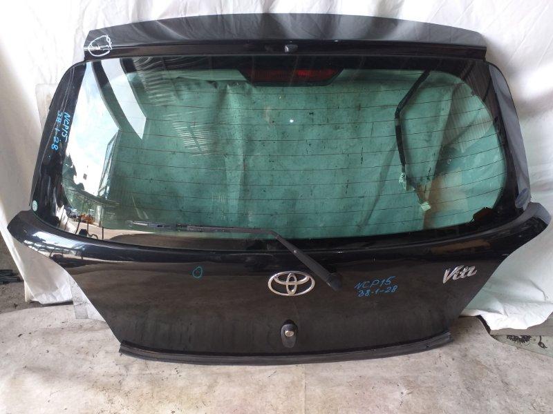 Дверь задняя Toyota Vitz NCP15 (б/у)