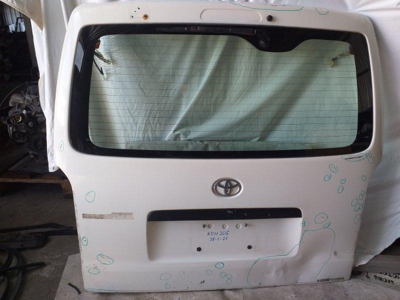 Дверь задняя Toyota Hiace KDH205 (б/у)