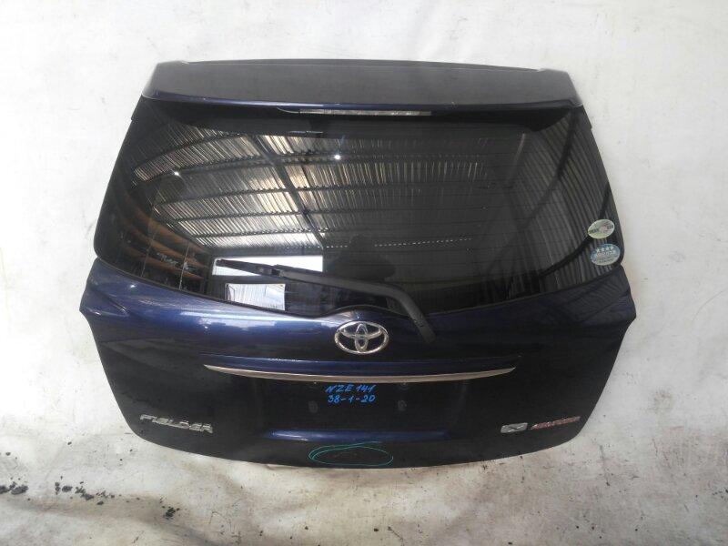 Дверь задняя Toyota Corolla Fielder NZE141 задняя (б/у)