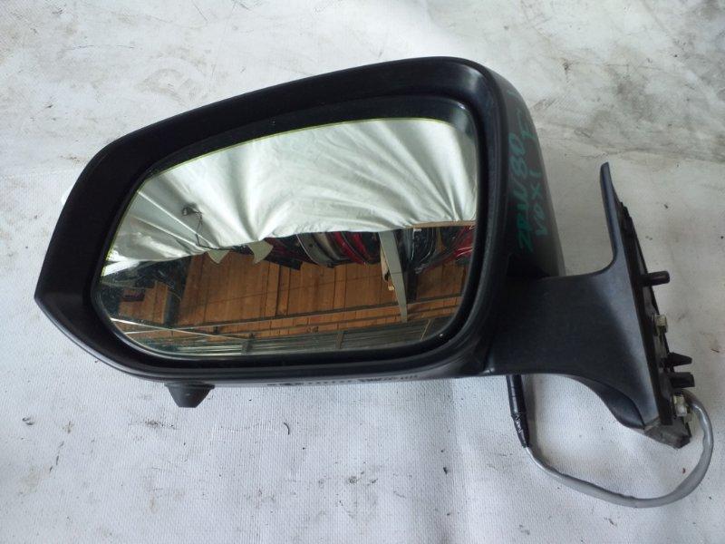 Зеркало Toyota Voxy ZWR80 переднее левое (б/у)