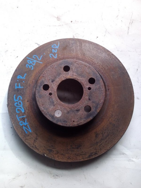 Тормозной диск Toyota Allion ZRT265 передний (б/у)