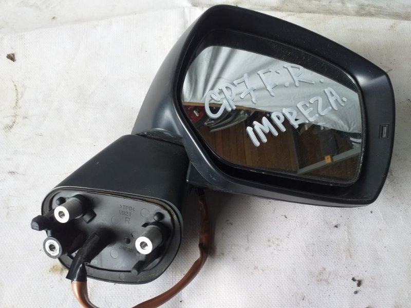 Зеркало Subaru Impreza GP7 переднее правое (б/у)