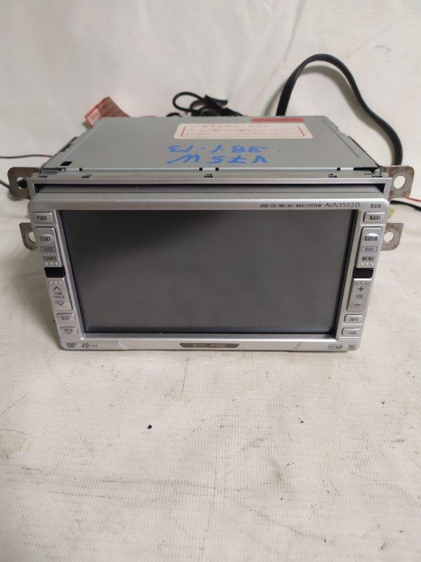 Магнитофон Mitsubishi Pajero V75W (б/у)