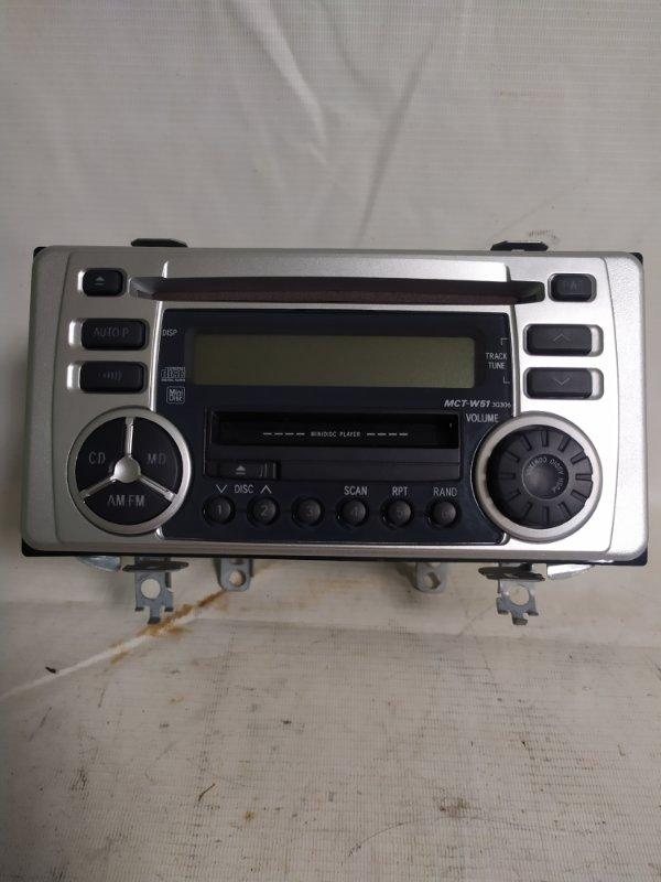 Магнитофон Toyota Corolla Fielder NZE124 (б/у)