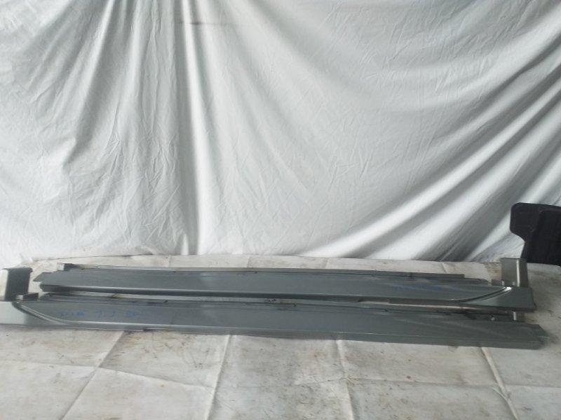 Накладка на порог Mitsubishi Pajero V78W (б/у)