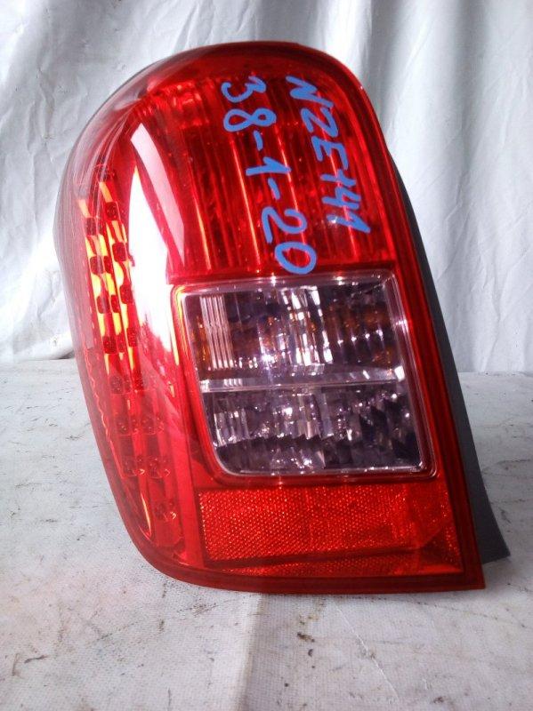 Стоп-сигнал Toyota Corolla Fielder NZE141 1NZ-FE задний левый (б/у)