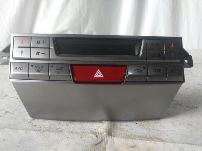 Блок управления климат-контролем Subaru Legacy BR9 2010 передний (б/у)